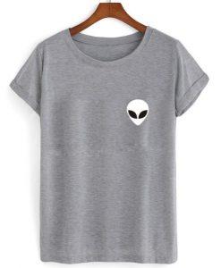 alien head T shirt