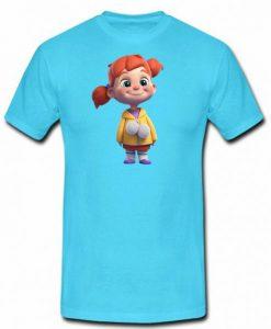 alifnazhan Cartoon T shirt (KM)