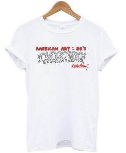 american art of the 80′ tshirt