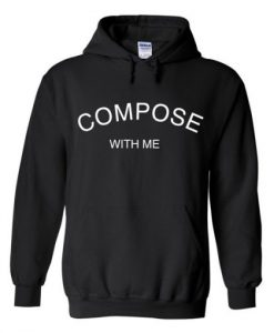compose with me hoodie THD