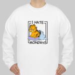 i hate mondays garfield sweatshirt THD