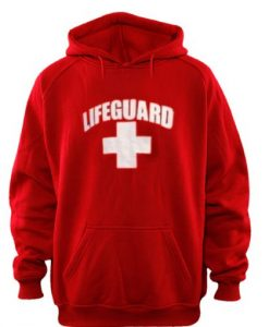 lifeguard red color Hoodies THD