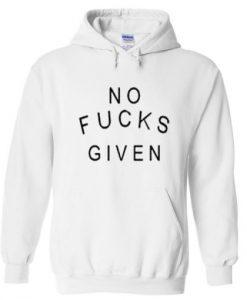 no fucks given hoodie THD