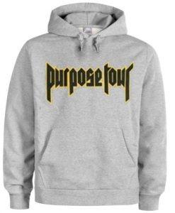 purpose tour hoodie THD