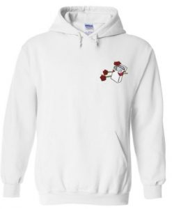 rose ciggarete hoodie THD