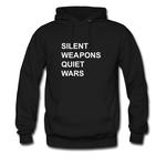 silent weapons quiet wars HOODIE THD