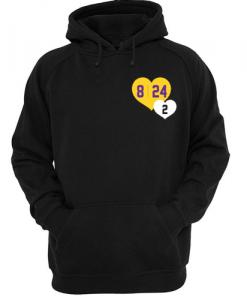 8 24 2 Kobe & Gigi in Hearts hoodie THD