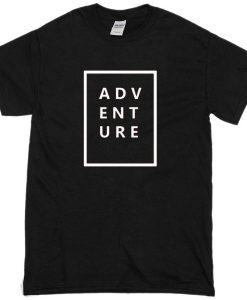 Adventure black T-shirt THD