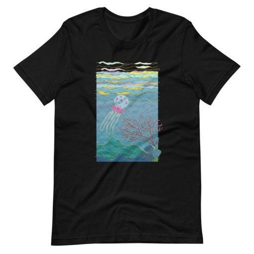 Aesthetic Ocean T-Shirt THD