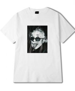 Albert Einstein T Shirt THD