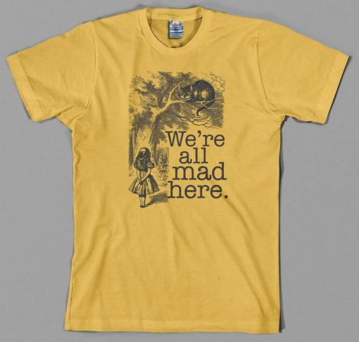 Alice in Wonderland T Shirt THD