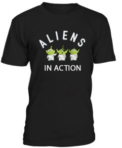 Aliens In Action Toy Story Tshirt THD
