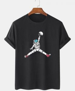 Astronaut Graphic Short Sleeve T-SHIRT THD