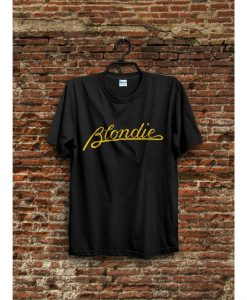 BLONDIE punk rock T-Shirt THD