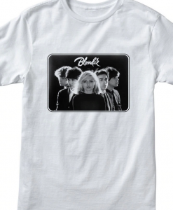 Blondie Band Photo Punk Rock T-Shirt THD