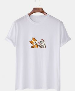 Cartoon Animal Printed T-SHIRT THD