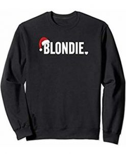 Christmas Holiday Blondie Sweatshirt THD