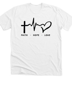 Faith Hope Love T-shirt thd