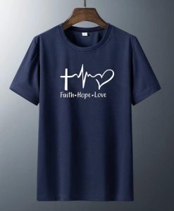 Faith Hope Love T-shirtS thd