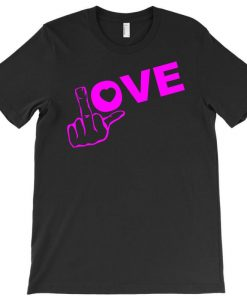 Fuck Love Party T-shirt THD