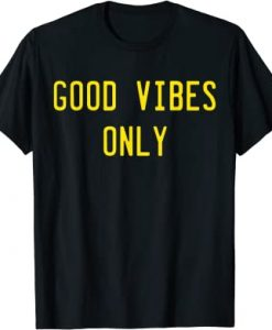 Good Vibes Retro T-SHIRT THD