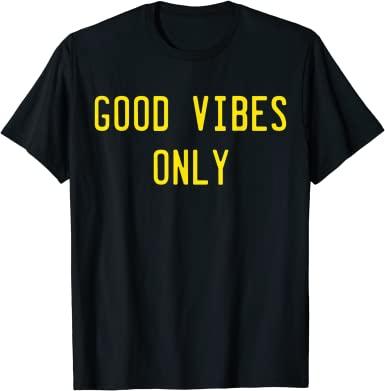 Good Vibes Retro T-SHIRT THD
