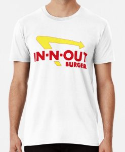 IN-N-OUT burger California Fries T-Shirts THD