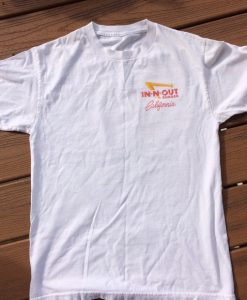IN-N-OUT burger California shirt thd