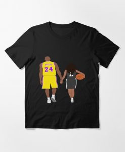 Kobe and Gigi Bryant T-SHIRT THD