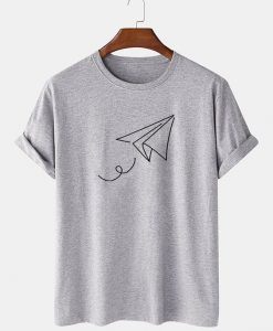 Letter Printed T-SHIRT THD
