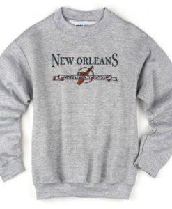 New Orleans Laissez Le Bon Temps Sweatshirt