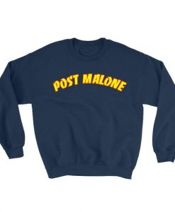Post Malone Sweatshirt NAVY THD
