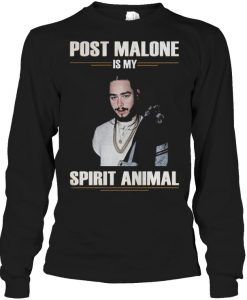 Post malone is my spirit Animal SWEATSHIRT THD
