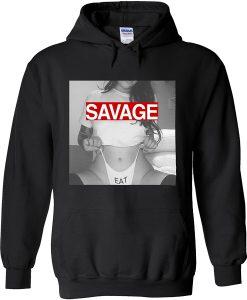 Sexy Savage Eat HOODIE THD