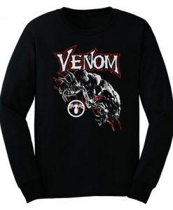 Venom Logo Official Marvel Comics Sweatshirt