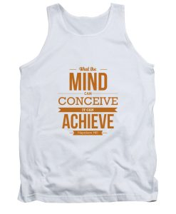 WHAT THE MIND Napoleon Hill Typography TANKTOP THD