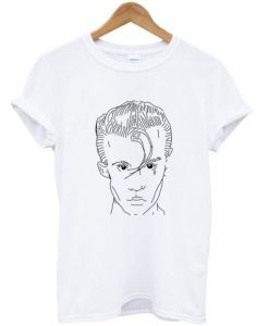 alex turner drawing T-shirt THD