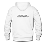 late to the party in heaven(back)HOODIE THD