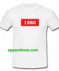 1980 t shirt thd
