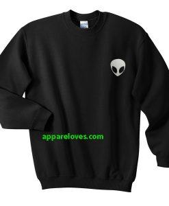 Alien Head Sweatshirt THD