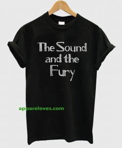 As Worn By Ian Curtis The Sound And The Fury t shirt THD