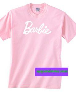 Barbie Light Pink Unisex adult T shirt thd
