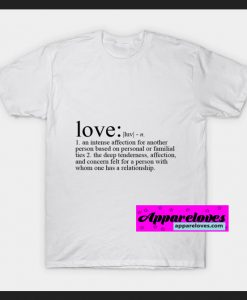 Definition of Love T-SHIRT THD