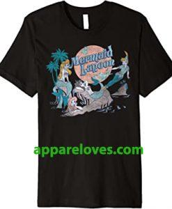 Disney Peter Pan Distressed Mermaid Lagoon T-Shirt thd