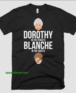 Dorothy in the Streets, Blanche in the Sheets thd