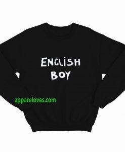 English Boy scaled SWEATSHIRT THD