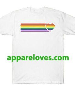 Gay Pride Rainbow Colour T shirt thd