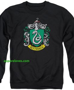 Harry Potter Slytherin Crest Sweatshirt thd
