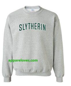 Harry Potter Slytherin sweatshirt thd