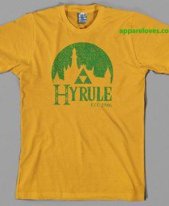Hyrule Legend of Zelda T Shirt thd